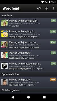 Wordfeud Free APK screenshot 1