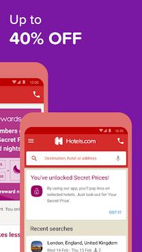 Hotels.com: Book Hotel Rooms & Find Vacation Deals APK screenshot 1