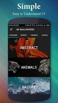 4K Wallpapers (Ultra HD Backgrounds) APK screenshot 1