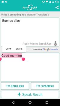 Spanish English Translator APK screenshot 1
