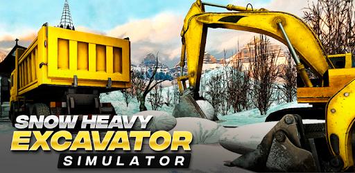 Snow Heavy Excavator Simulator pc screenshot