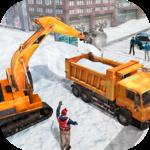 Snow Heavy Excavator Simulator icon