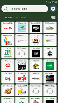 Romania Radio Stations Online APK screenshot 1