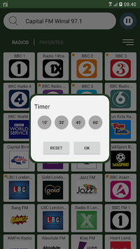 UK Radio Stations Online APK screenshot 1