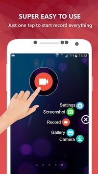 AZ Screen Recorder - No Root APK screenshot 1