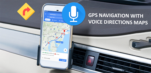 Voice GPS Driving Direction & Navigation Route pc screenshot