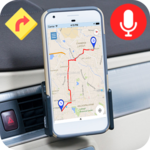Voice GPS Driving Direction & Navigation Route icon