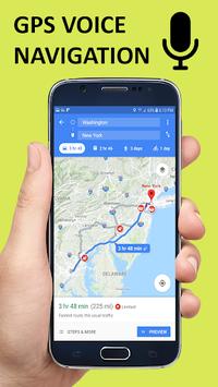 Voice GPS Driving Direction & Navigation Route APK screenshot 1