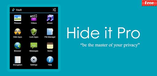 Hide Photos, Video-Hide it Pro pc screenshot