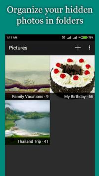 Hide Photos, Video-Hide it Pro APK screenshot 1