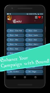 Fantasy Soundboard - Tabletop RPG Sound Effects APK screenshot 1