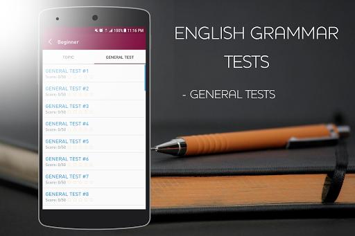 English Grammar Test APK screenshot 1