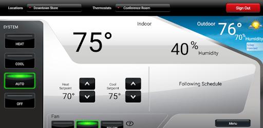 Total Connect Comfort pc screenshot