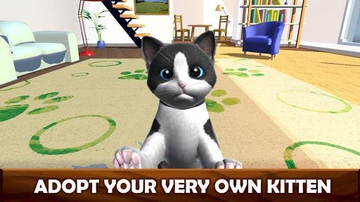 Daily Kitten : virtual cat pet APK screenshot 1