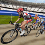 Track Cycling BMX Anticlock Bicycle Race icon
