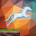 Unicorn Horse Runner icon