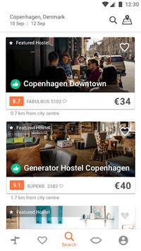Hostelworld: Hostels & Cheap Hotels Travel App APK screenshot 1