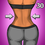 HourGlass Body Workout: 30Day Small Waist Big Butt for pc icon