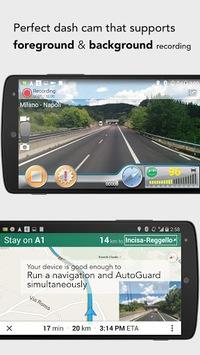 AutoGuard Dash Cam - Blackbox APK screenshot 1