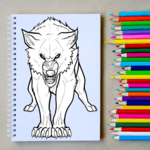 How to Draw Wolf Step by Step icon