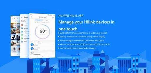 Huawei HiLink (Mobile WiFi) pc screenshot