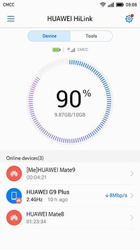 Huawei HiLink (Mobile WiFi) APK screenshot 1