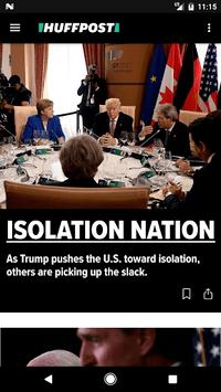 HuffPost - News APK screenshot 1