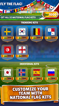 Kings of Soccer - Multiplayer Football Game APK screenshot 1