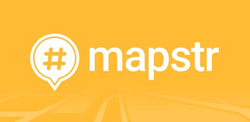 Mapstr pc screenshot