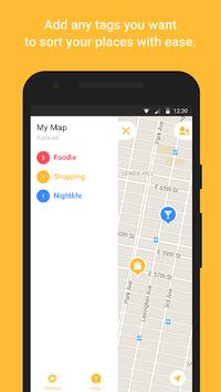 Mapstr APK screenshot 1