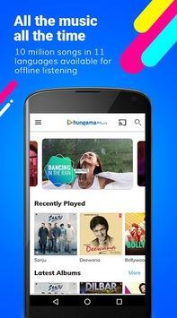Hungama Music - Songs, Radio & Videos APK screenshot 1