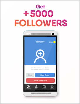 Real Followers Pro + APK screenshot 1