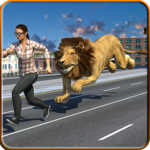 Angry Lion Strike: Winter Hunting icon