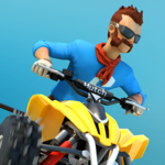 MMX Hill Dash 2 – Offroad Truck, Car & Bike Racing APK icon