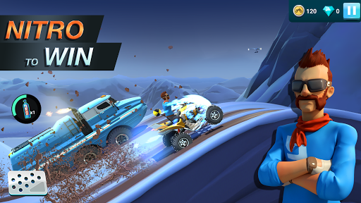MMX Hill Dash 2 – Offroad Truck, Car & Bike Racing APK screenshot 1