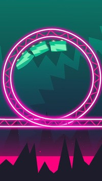 Rollercoaster Dash - Rush and Jump the Train APK screenshot 1