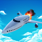 Airplane Emergency Landing icon