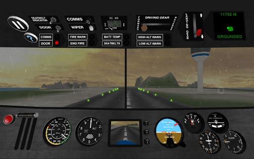 Airplane Pilot Sim APK screenshot 1