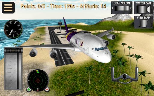Flight Simulator: Fly Plane 3D APK screenshot 1