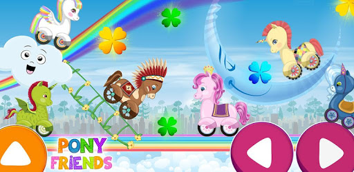 Pony Friends 🦄 - Beepzz racing game for kids pc screenshot
