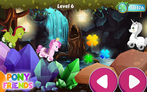 Pony Friends 🦄 - Beepzz racing game for kids APK screenshot 1