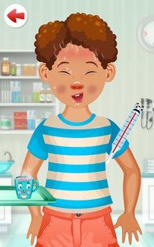 Kids Doctor Game - free app APK screenshot 1
