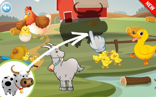 Animals Puzzle for Kids APK screenshot 1