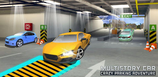 Multistory Car Crazy Parking 3D pc screenshot