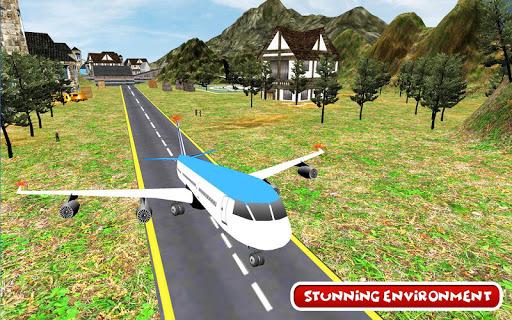 Aeroplane Games: City Pilot Flight APK screenshot 1