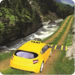Hill Taxi Simulator Games 2018 icon