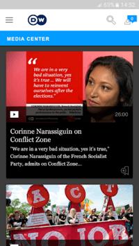 DW - Breaking World News APK screenshot 1