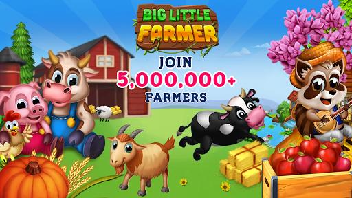 Big Little Farmer Offline Farm APK screenshot 1