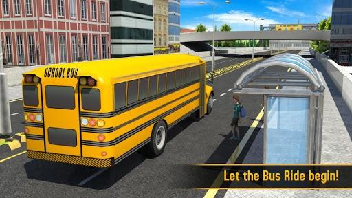 School Bus 3D APK screenshot 1