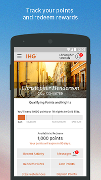 IHG®: Hotel Deals & Rewards APK screenshot 1